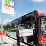 Sauberer Strom für Fahrzeuge der Rheinbahn