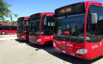 Der römische Verkehrsbetrieb Atac erhält 100 Mercedes-Benz Citaro hybrid. Die Stadtbusse werden in drei Tranchen zwischen Juni und Herbst dieses Jahres ausgeliefert.