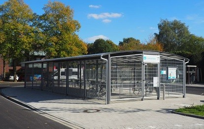 Bahnhof Albachten (Bild: NWL)