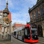 Inbetriebnahme der neuen Bremer Straßenbahn