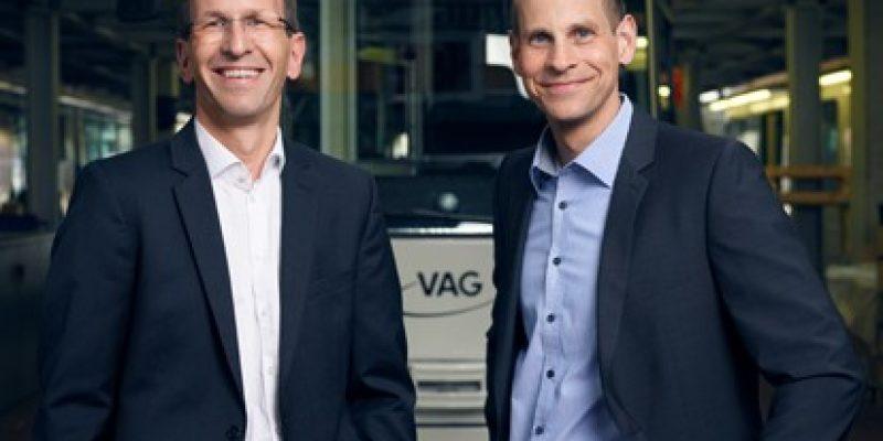 Stephan Bartosch (links) und Oliver Benz werden die VAG auch in den kommenden fünf Jahren führen.