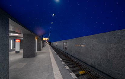 Am 9. Juli 2021 wurden die Tore des neuen U-Bahnhofs Museumsinsel für alle Fahrgäste geöffnet. Damit ist nun auch der letzte der drei neuen U5-Bahnhöfe ans Netz gegangen.