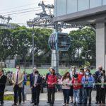Mexico City feiert ihre neue urbane Seilbahn