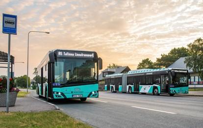 Vertreter von Solaris Bus & Coach und des estnischen Betreibers Aktsiaselts Tallinna Linnatransport (TLT) haben einen Vertrag über die Lieferung von 100 umweltfreundlichen, mit komprimiertem Erdgas (CNG) betriebenen Stadtbussen unterzeichnet. Bei den bestellten Fahrzeugen handelt es sich um 75 Urbino 12 und 25 Urbino 18-Gelenkbusse.