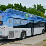 Einführung von Elektro-Hybridbussen in Indianapolis