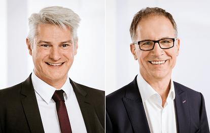 Michael Vogel und Dr. Norbert Reinkober (Bild: VRS GmbH / Smilla Dankert)