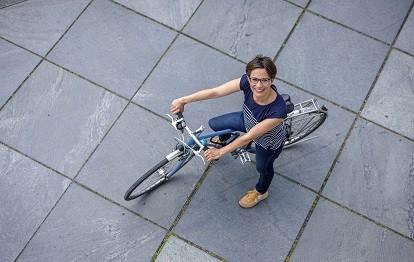 ADFC-Geschäftsführerin Anne-Kathrin Schneider (Bild: ADFC / Deckbar)