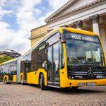 Darmstadt stellt 24 eCitaro in Dienst