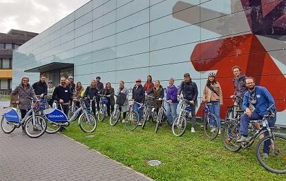 Tagung der Stiftungsprofessuren Radverkehr (Bild: Hochschule RheinMain)