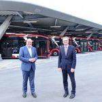 eBus-Port der VAG geht in Betrieb