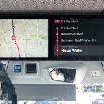 Echtzeitanzeige in HOCHBAHN-Bussen