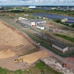 Neubau des Straßenbahnbetriebshofs Nord in Magdeburg