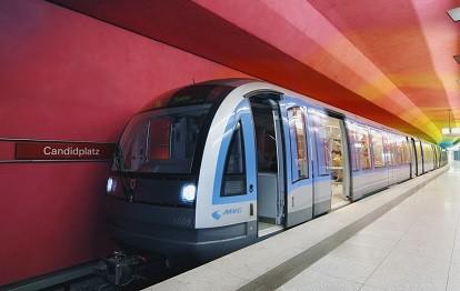 U-Bahn C-Zug, Candidplatz (Bild: MVG / Kerstin Groh)