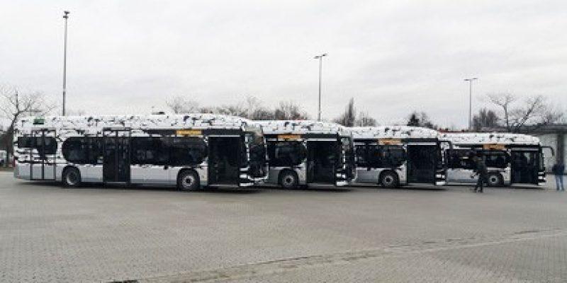 Die Münchner Verkehrsgesellschaft nimmt nach einigen Brandvorfällen in Busdepots vorsichtshalber ihre eCitaros aus dem Betrieb.