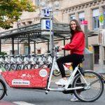 Lastenräder ergänzen das Angebot in Nürnberg