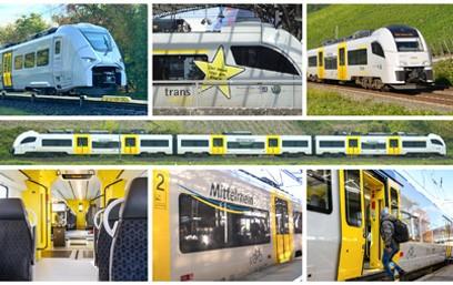 Am 29.9.2021 unterzeichneten die Trans Regio Deutsche Regionalbahn GmbH (Trans Regio), ein Tochterunternehmen der Transdev Gruppe, und Alpha Trains, Vermieter von Zügen und Lokomotiven, einen langfristigen Leasingvertrag für 23 elektrische Triebzüge. Die Fahrzeuge sind aktuell und auch künftig beim alten und neuen Betreiber Trans Regio auf der MittelrheinBahn im Einsatz.